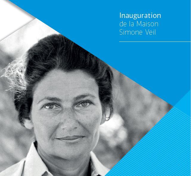 Inauguration de la Maison Simone Veil / Saint-Priest 28/10/2019