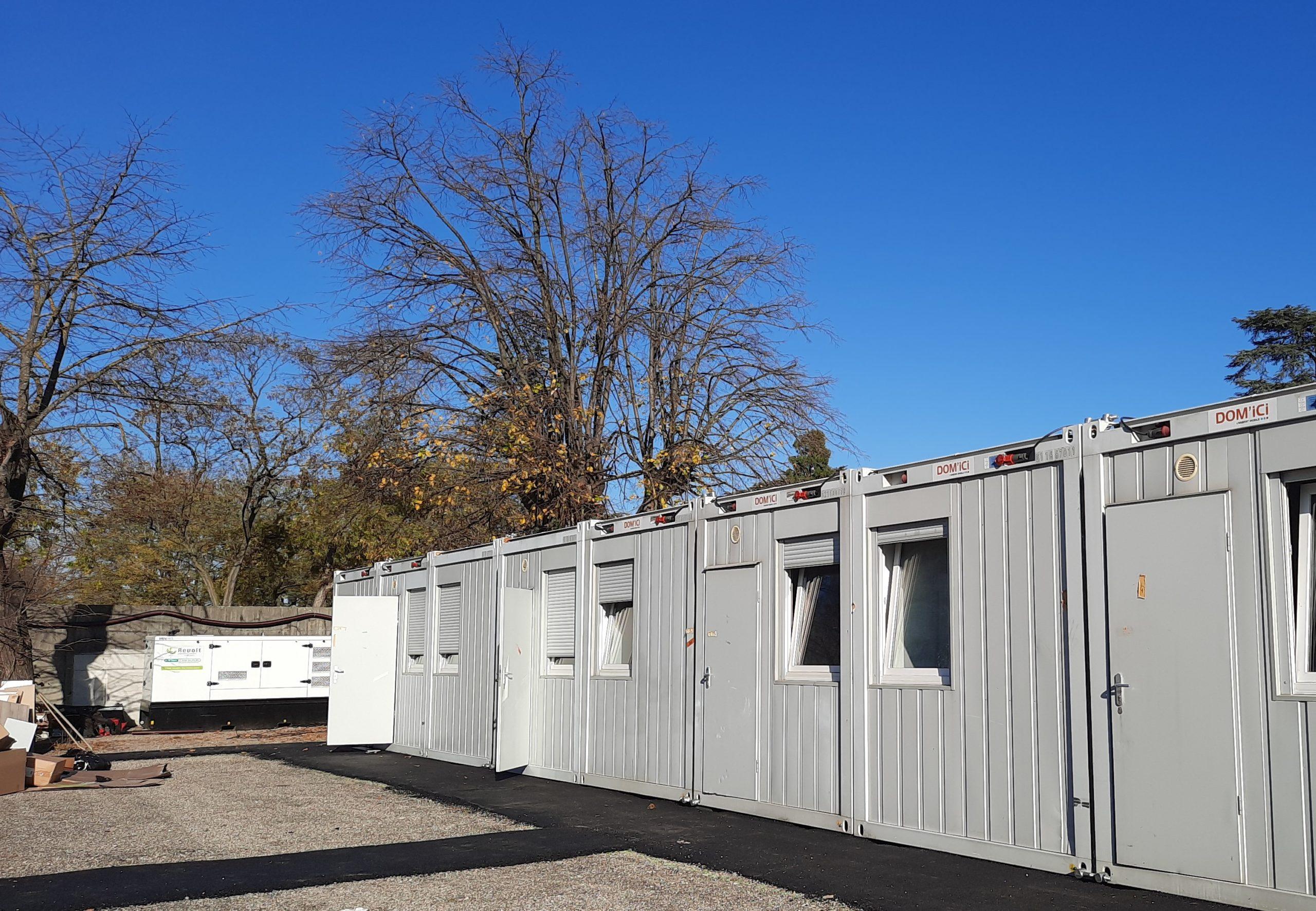 LA STATION : un Centre d'Hébergement d'Urgence en réponse à l'évacuation du squat Maurice SCEVE Lyon 4