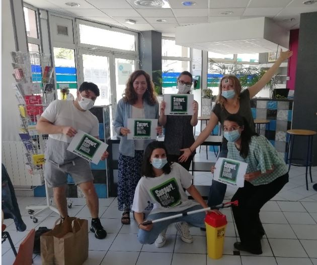 PAUSE DIABOLO soutient la campagne «Support Don't punish»