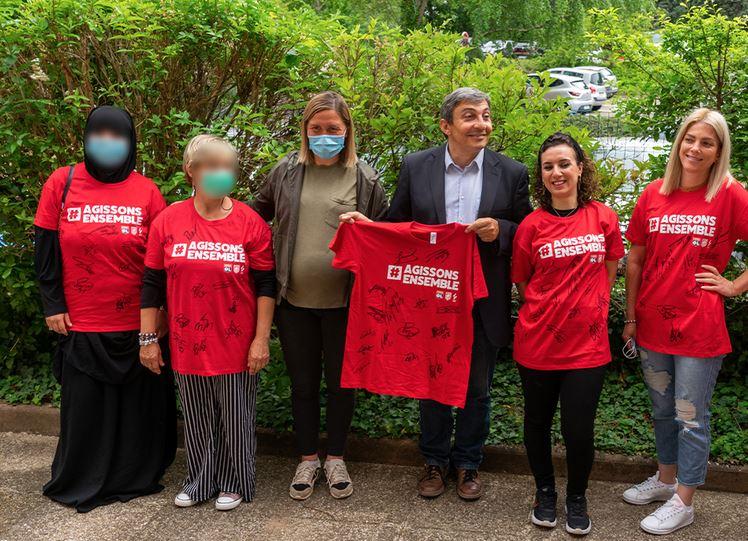 Retour en images sur l'opération «Agissons Ensemble» / Olympique Lyonnais Fondation